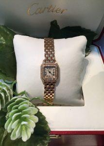 big sale 9cb30 3b61f セール品 Cartier 】ミニパンテール ピンクゴールド ダイヤ ...