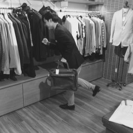 ビジネスマンの定番バッグ「フェリージ」