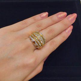 ボリューミー!ダイヤモンドリング