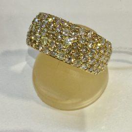 おすすめK18ダイヤモンドリング!