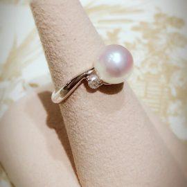 《♡パールとダイヤモンドのリング♡》