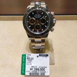 【商品紹介】ロレックス 116520 ブラック ランダム番