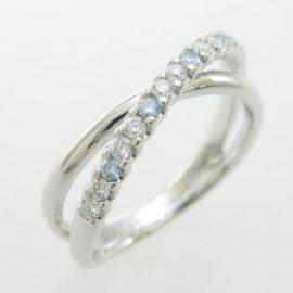夏らしい爽やかなダイヤモンド
