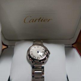 【まだまだ秋セール】Cartier「バロンブルー」