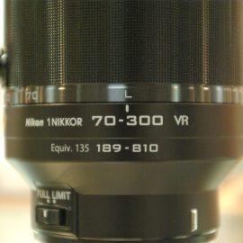 【カメラ】秋の大決算セールはこんなにお買い得!【NIKON 1 70-300VR】