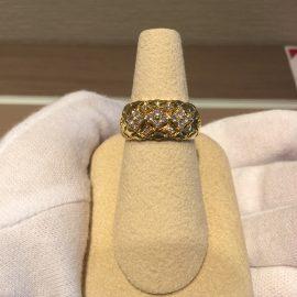 セール!フラワーダイヤモンドリング