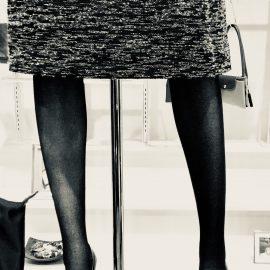 タイツ×ほっこりスカート