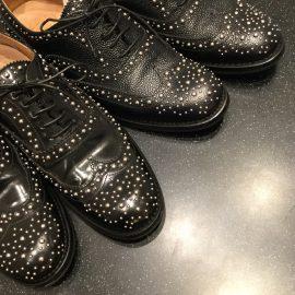 ■心斎橋店■英国靴チャーチのBURWOOD スタッズモデル入荷しました。