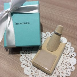 半額以上!【Tiffany&Co.】ジャズグラジュエイテッドリング