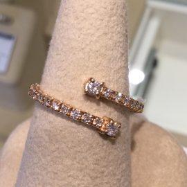 広島本通店 ユニークでオススメ ダイヤモンドリング