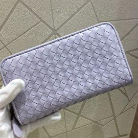 天神店☆未使用品☆可憐なパープルカラーのお財布♪