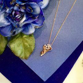【新入荷】花束のようなダイヤモンドネックレス