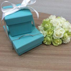【Tiffany & Co.】Tスマイル ブレスレット