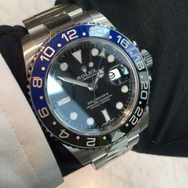 【ロレックス】GMTマスター2 青黒