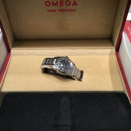 【新宿店時計館】1957トリロジーレイルマスター【OMEGA】