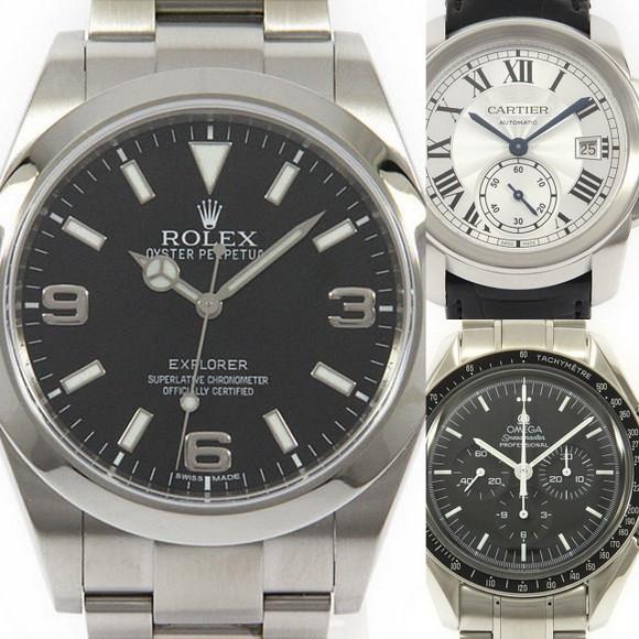 lowest price cc277 58148 初心者でもわかる高級時計の選び方② ~人気ブランドの評判と ...