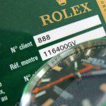 ロレックスの時計にある番号って何? ~ロレックスの型式番号とシリアル番号~