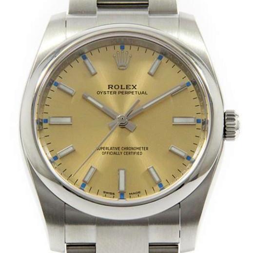 buy popular 10cc8 9fa80 ロレックス「オイスターパーペチュアル」ってどんな時計 ...