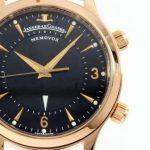 """【腕時計の名作を知る!】ジャガールクルト「マスターブラック メモボックス」 ~型破りな""""裏スケ""""アラームウォッチ~"""