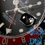 【ロレックスのレア品を紹介】GMTマスターⅡ「スティック文字盤」とは?