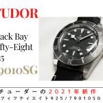 【2021年新作紹介】チューダー「ブラックベイ フィフティエイト 925」 ~珍しいシルバー素材のダイバーズウォッチ~
